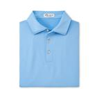 Peter Millar Men's Solid Performance Polo - Cottage Blue