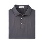 Peter Millar Men's Solid Performance Polo - Iron