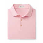 Peter Millar Men's Solid Performance Polo - Palmer Pink