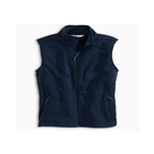 Southern Tide Women's Sweater Fleece Vest - True Navy