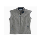 Southern Tide Women's Sweater Fleece Vest - Steel Grey