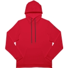 ASICS Men's French Terry Pullover Hoodie - Red