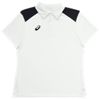 ASICS Women's Core Blocked Polo - White