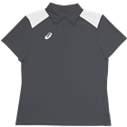 ASICS Women's Core Blocked Polo - Steel Grey