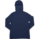 ASICS Women's French Terry Pullover Hoodie - Navy