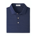 Peter Millar Men's Crafty Performance Polo - Navy/Cottage Blue
