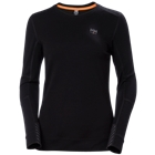 Helly Hansen Women's LIFA Merino Crewneck - Black