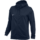 Nike Women's Therma Full-Zip Training Hoodie - Team Navy