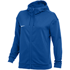 Nike Women's Therma Full-Zip Training Hoodie - Team Royal