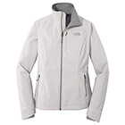 The North Face Women's Apex Barrier Soft Shell Jacket - TNF Lt Grey He