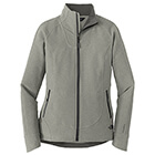 The North Face Women's Tech Stretch Soft Shell Jacket - TNF Med Gry He