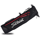 Titleist Premium Carry Bag - Black/Red