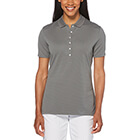 Callaway Golf Women's Ottoman Polo - Smoked Pearl
