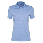 Callaway Golf Women's Ottoman Polo - Provence Blue