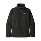 Patagonia Women's Better Sweater 1/4-Zip - Black