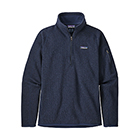 Patagonia Women's Better Sweater 1/4-Zip - New Navy