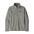 Patagonia Women's Better Sweater 1/4-Zip - Birch White