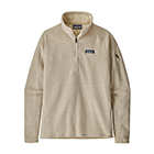 Patagonia Women's Better Sweater 1/4-Zip - Oyster White