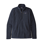 Patagonia Men's Better Sweater 1/4-Zip - New Navy