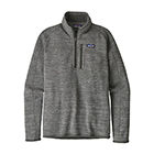 Patagonia Men's Better Sweater 1/4-Zip - Nickel