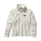 Patagonia Women's Micro D 1/4 Zip Pullover - Birch White