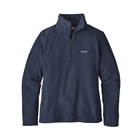 Patagonia Women's Micro D 1/4 Zip Pullover - New Navy