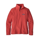 Patagonia Women's Micro D 1/4 Zip Pullover - Static Red