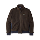 Patagonia Men's Woolyester Fleece Jacket - Logwood Brown