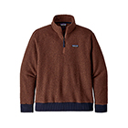 Patagonia Men's Woolyester Fleece Pullover - Sisu Brown