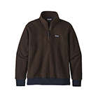 Patagonia Men's Woolyester Fleece Pullover - Logwood Brown