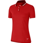 Nike Women's Dri Fit Victory Polo - University Red