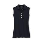 Peter Millar Women's Perfect Fit Sleeveless Performance Polo - Black