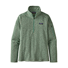 Patagonia Women's Better Sweater 1/4-Zip - Gypsum Green