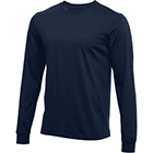 Nike Men's Long-Sleeve T-Shirt - College Navy