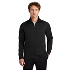 Eddie Bauer Men's Smooth Fleece Base Layer Full-Zip - Black