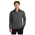 Eddie Bauer Men's Smooth Fleece Base Layer Full-Zip - Iron Gate