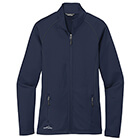 Eddie Bauer Women's Smooth Fleece Base Layer Full-Zip - River Blue