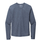 Ogio Men's Force Long Sleeve Tee - Blue Indigo Heather