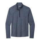 Ogio Men's Force 1/4-Zip - Blue Indigo Heather