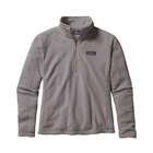 Patagonia Women's Micro D 1/4 Zip Pullover - Feather Grey