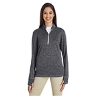 adidas Golf Women's Brushed Terry Heather Quarter-Zip