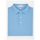 Peter Millar Men's Solid Stretch Mesh Self Collar