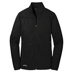 Eddie Bauer Ladies Weather-Resist Soft Shell Jacket - Black