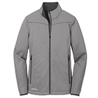 Eddie Bauer Ladies Weather-Resist Soft Shell Jacket - Chrome