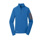 Eddie Bauer Ladies 1/2-Zip Performance Fleece - Ascent Blue