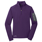 Eddie Bauer Ladies 1/2-Zip Performance Fleece - Blackberry