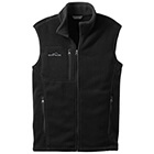 Eddie Bauer Men's Fleece Vest - Black