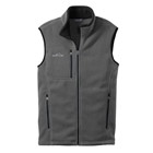 Eddie Bauer Men's Fleece Vest - Grey Steel