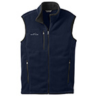 Eddie Bauer Men's Fleece Vest - River Blue