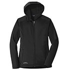 Eddie Bauer Women's Trail Soft Shell Jacket - Black/ Black
